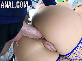 blonde, anal, fingering, creampie, hd videos, big tits